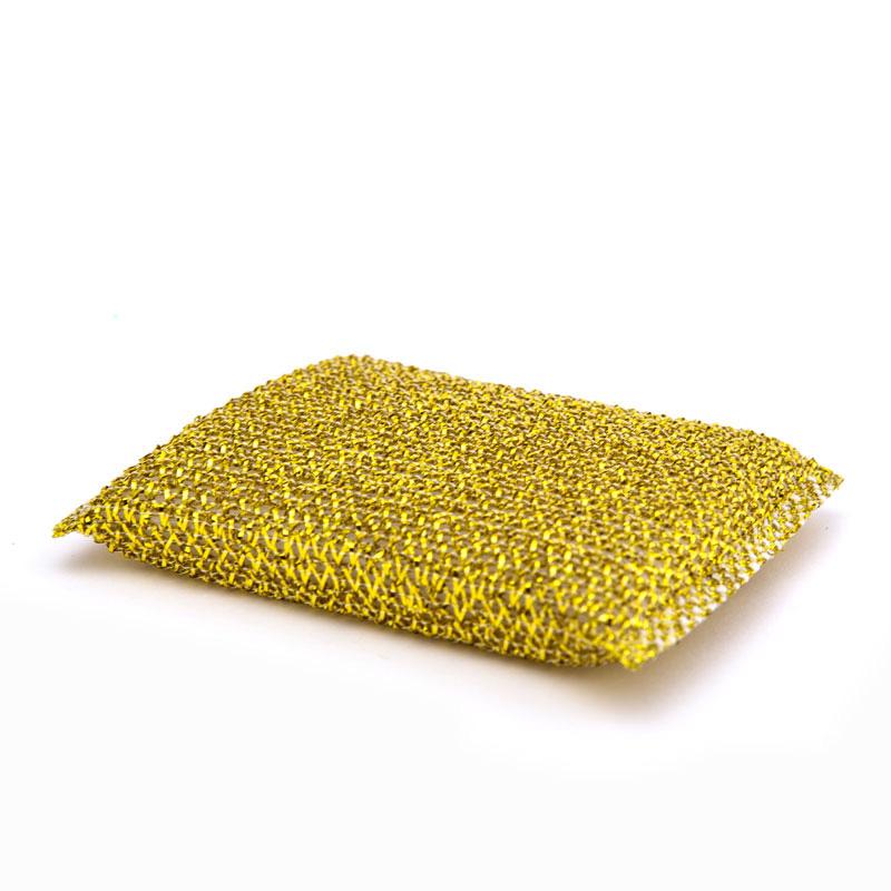 DH-A2-5 Mesh Sponge Silver Foam Scouring Pad Sponge Kitchen Cleaning Scrubber Sponge