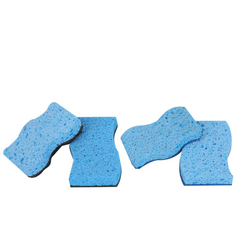DH-A5-2 Cellulose kitchen cleaning sponge durable coating sponge