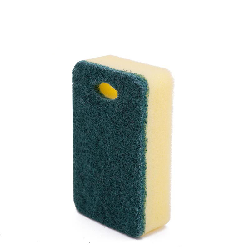 DH-A1-29 rectangle with holes eco friendly kitchen cleaning sponge scourer