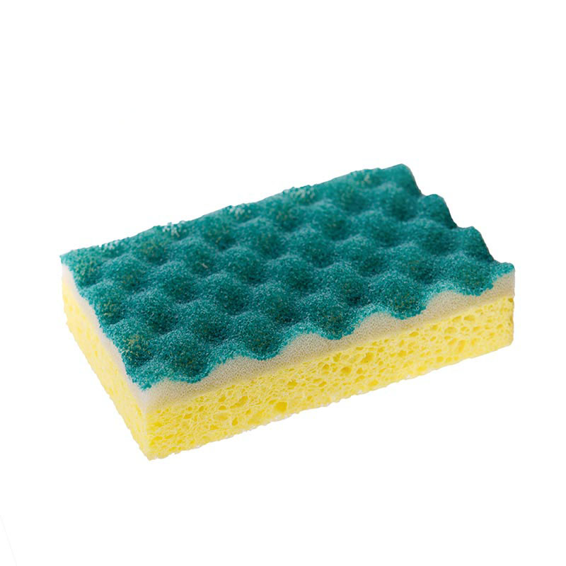 DH-A5-11 foam block cellulose dishwashing sponge wet cellulose sponge blocks