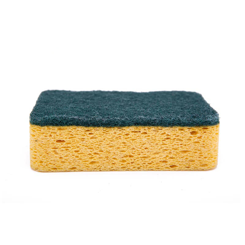 DH-A5-18 Heavy-duty scraping scouring cloth kitchen cleaning cellulose sponge