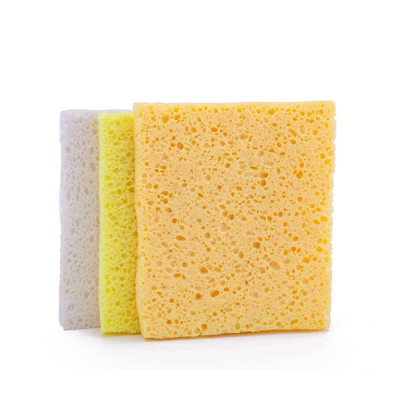DH-A5-20 Colorful kitchen cellulose sponge sheet efficiently absorb water and clean