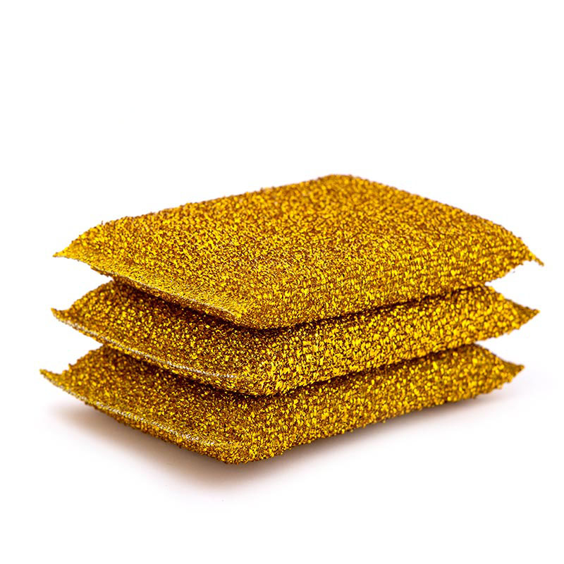DH-A2-7 Eco-friendly household scourer kitchen sponge scourer