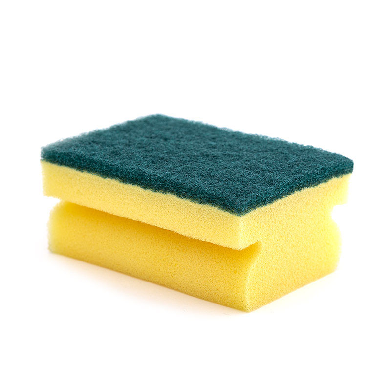DH-A1-12 wholesale Kitchen High-density dishwashing Household wipes Cleaning sponge