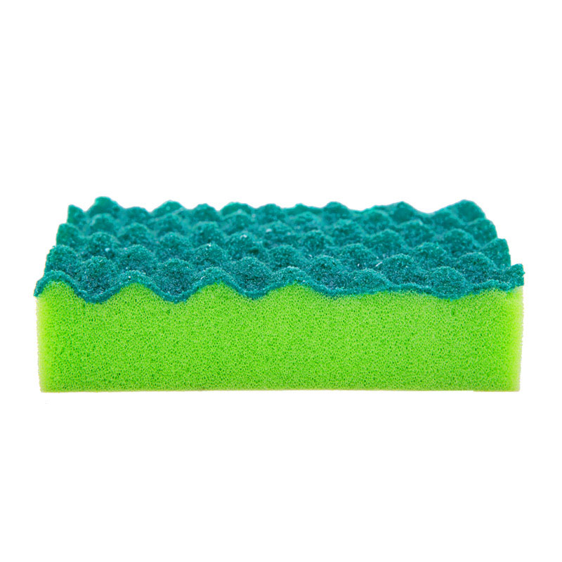 DH-A1-14 Wholesale green pur coating kitchen cleaning sponge
