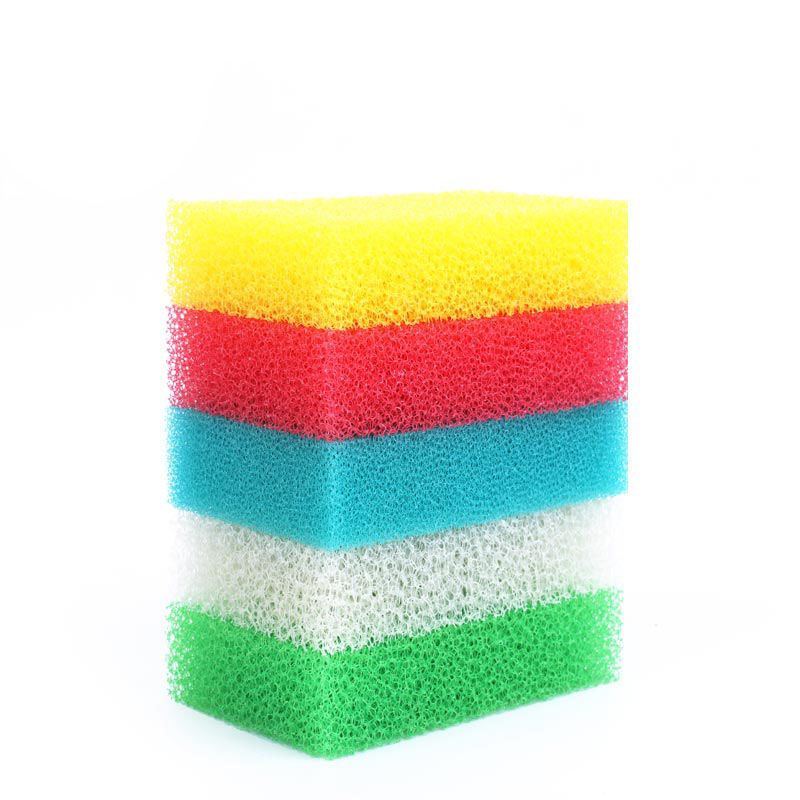 DH-A1-27 rectangle eco friendly kitchen cleaning 20D sponge filter sponge scourer