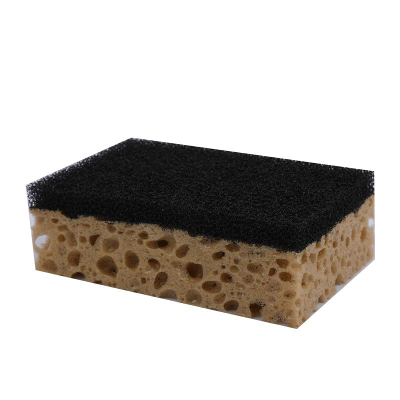DH-A1-53 New Kitchen Cleaning Polyester Sponge Scouring  Pad scourer