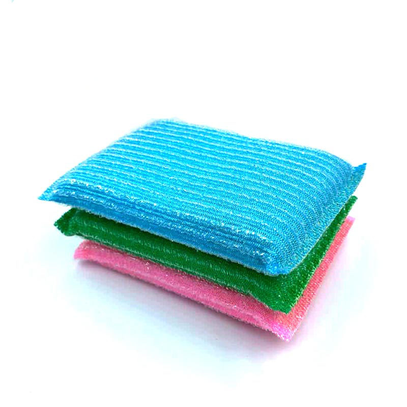 DH-A2-9 Kitchen scrubber Efficient cleaning sponge scourer scrub power  for washing dishes
