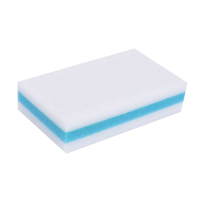 What is the principle of melamine foam products (ie magic sponge)?