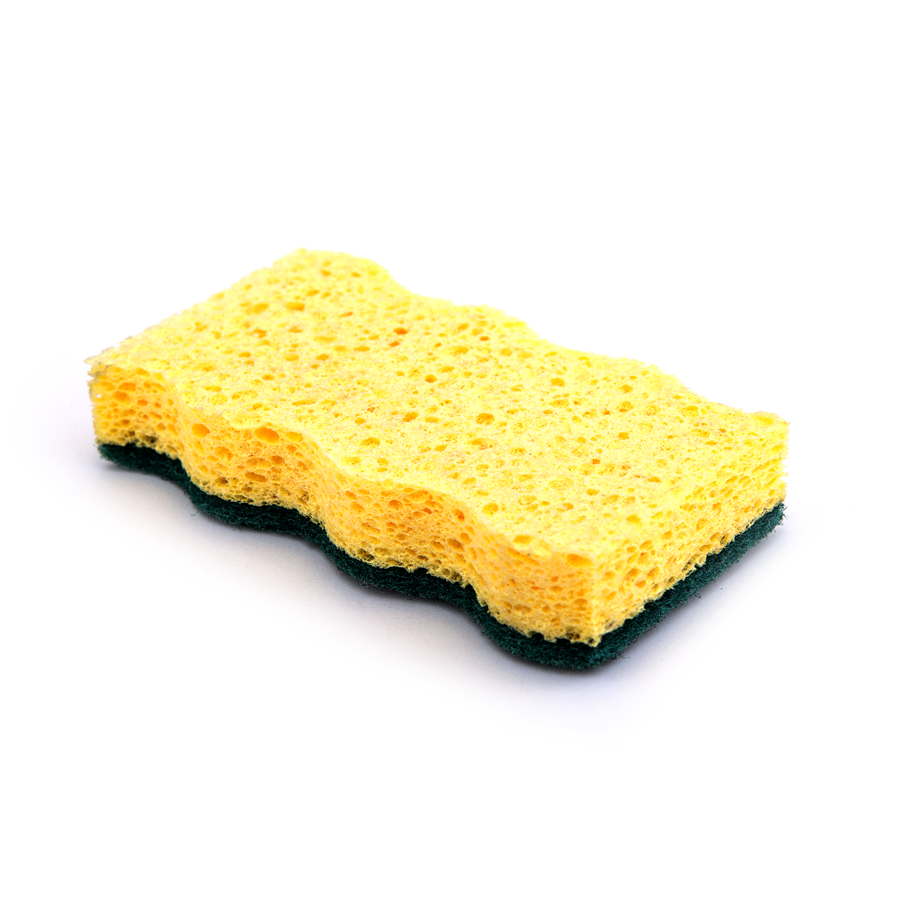 What is the principle of sponge cleaning?