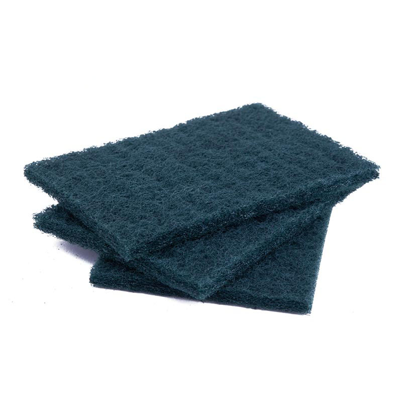 DH-C2-10 Green Kitchen Cleaning Sponges Nylon Scouring Pads
