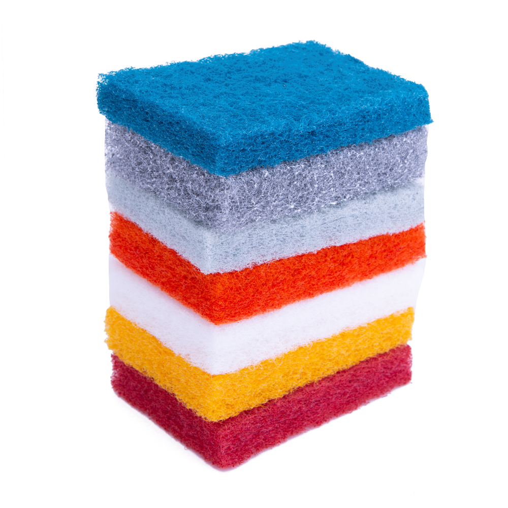 DH-C1-4 Eco-friendly Material Kitchen Cleaning Polyester Scouring Pad